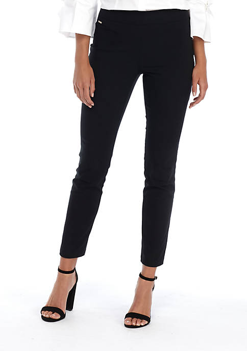 Womens Signature Pull On Skinny Pants in Exact Stretch