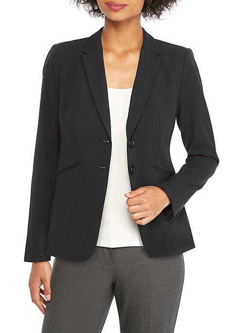 THE LIMITED Petite Two Button Blazer