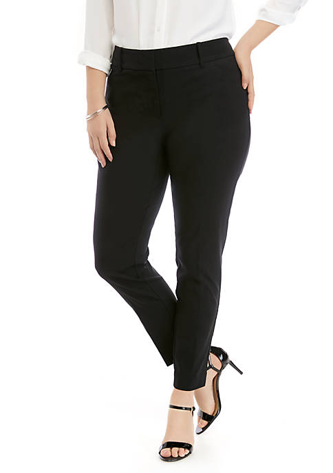 Plus Size Signature Bootcut Pants in Exact Stretch