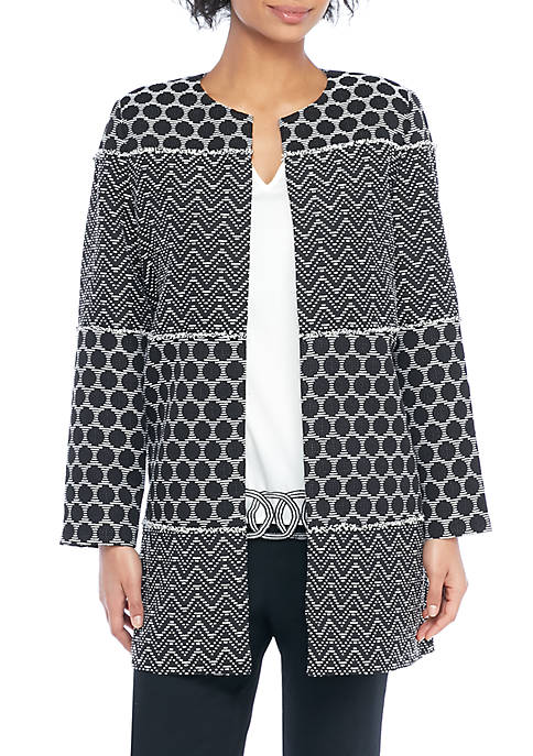 Jacquard THE LIMITED Long Jacket Mixed perfect for sale clearance cheap real free shipping finishline bAEKf