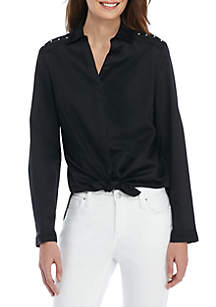 Petite Inset Shirt