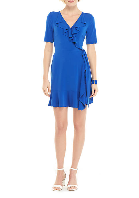 THE LIMITED Ruffle Jersey Dress
