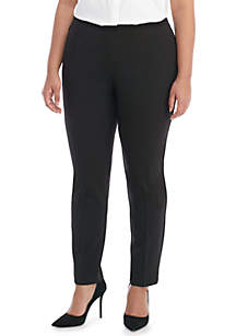 Plus Size Signature Skinny Pant with Zip Pockets in Modern Stretch