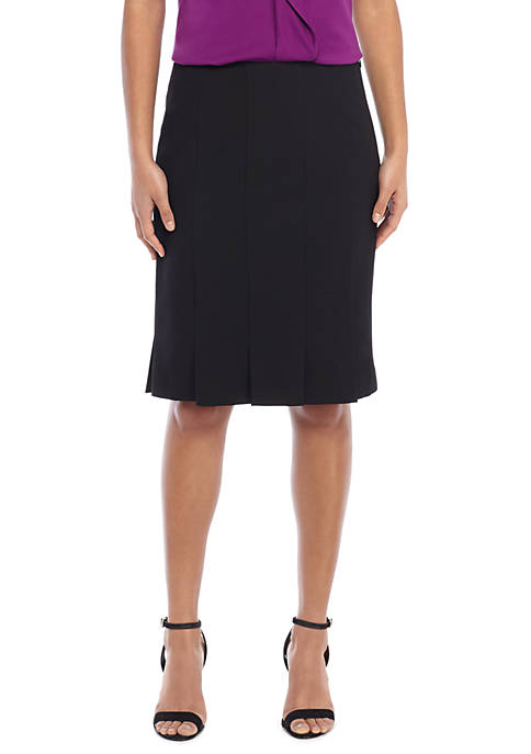 THE LIMITED Petite Box Pleat Pencil Skirt