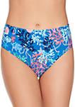 Shore Thing Starfish Reversible High Waist Swim Bottoms