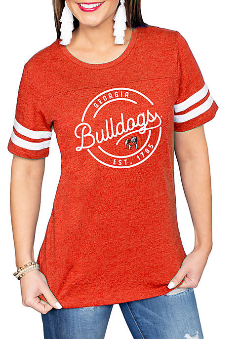 Gameday Couture Georgia Bulldogs Just My Stripe T