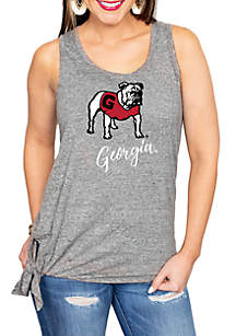 Gameday Couture Georgia Bulldogs Tied and True Tank