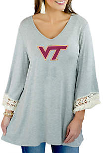 Virginia Tech Moments Notice Flowy Tunic
