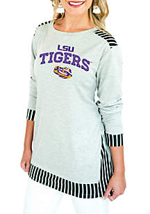 LSU Skip the Lines Oversized Tunic