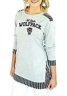 NC State Skip the Lines Oversized Tunic
