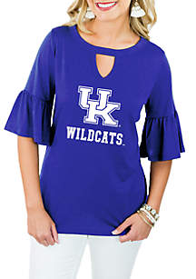 Kentucky Wildcats Ruffle and Ready Top
