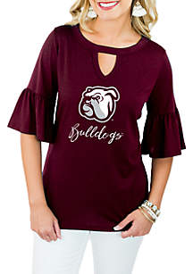 Mississippi State Bulldogs Ruffle and Ready Top