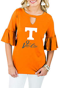 Tennessee Volunteers Ruffle and Ready Top