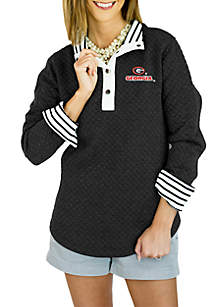 UGA Moments Notice Quilted 1/4 Zip