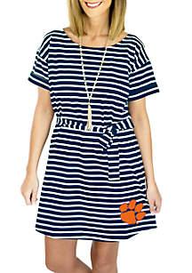 Clemson Pretty Little Thing Striped Dress