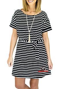 UGA Pretty Little Things Striped Dress
