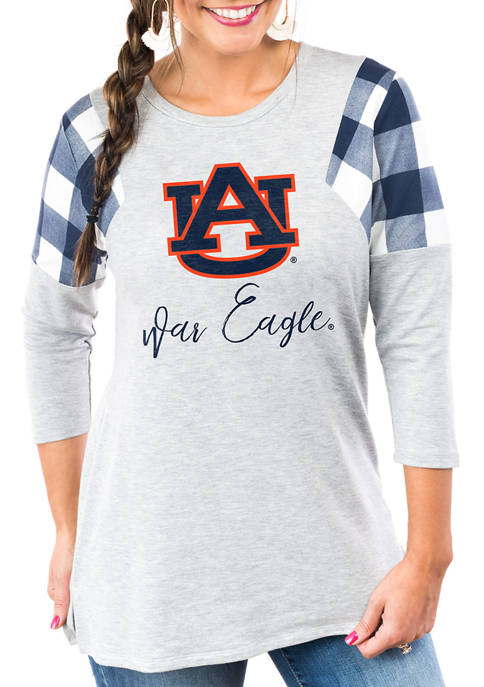 """Gameday Couture Auburn Tigers """"Get in Check"""" French"""