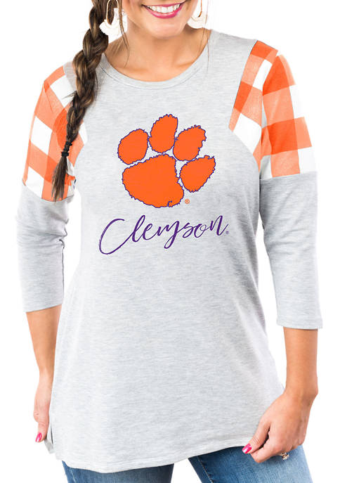 """Gameday Couture NCAA Clemson Tigers """"Get in Check"""""""