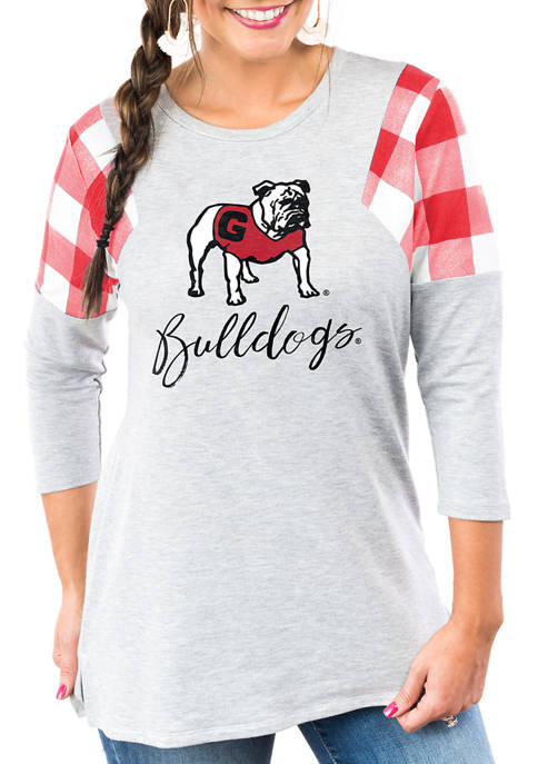 "Gameday Couture Georgia Bulldogs ""Get in Check"" French"