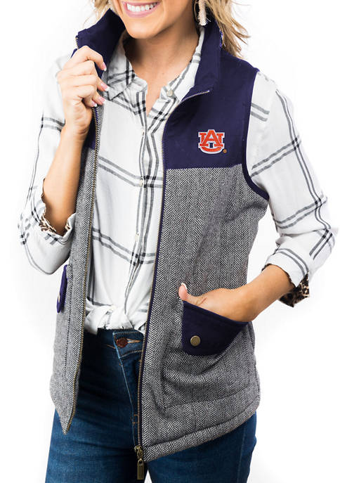 """Gameday Couture Auburn Tigers """"Prep For It"""" Tweed"""