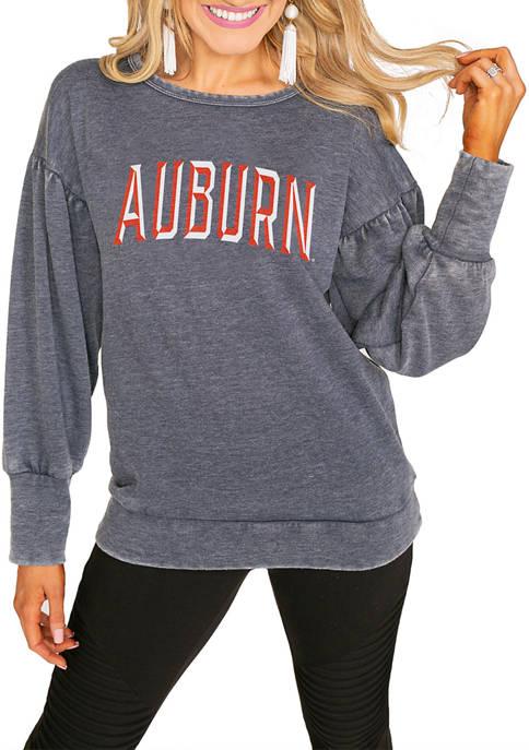NCAA Auburn Tigers Puff Sleeve Pullover