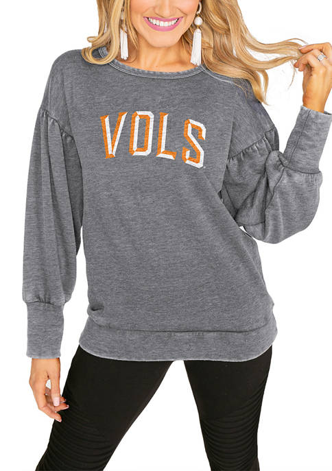 Gameday Couture NCAA Tennessee Volunteers Crew Neck Pullover