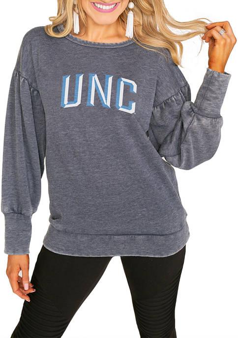 Gameday Couture NCAA UNC Tar Heels Puff Sleeve