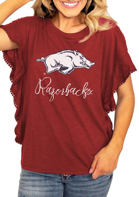 Gameday Couture NCAA Arkansas Razorbacks So Fly Ruffle