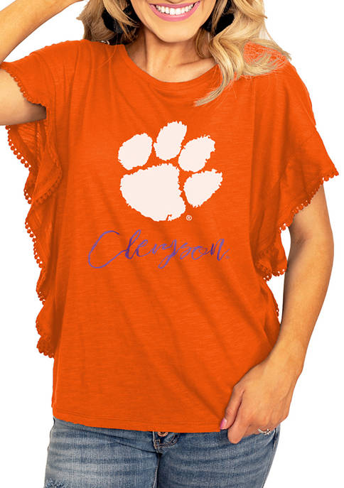 Gameday Couture NCAA Clemson Tigers So Fly Ruffle