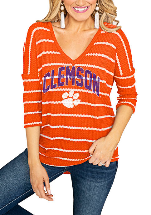 Gameday Couture NCAA Clemson Tigers On The Line