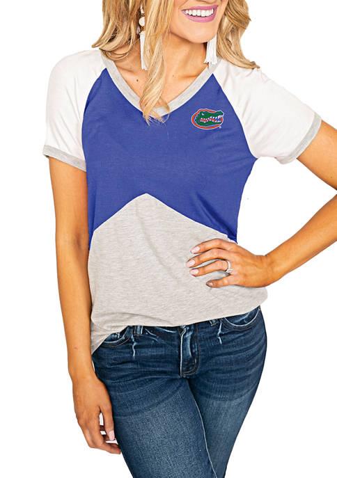 Gameday Couture NCAA Florida Gators Color Block V-Neck