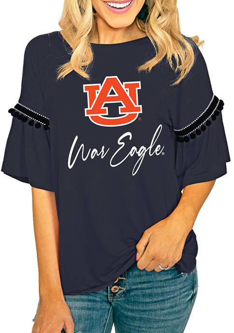 Gameday Couture NCAA Auburn Tigers Jersey Knit Top