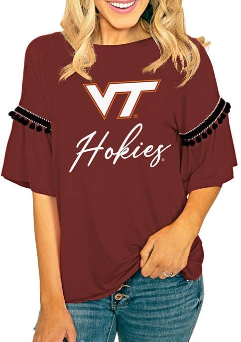 Gameday Couture NCAA Virginia Tech Hokies Jersey Knit