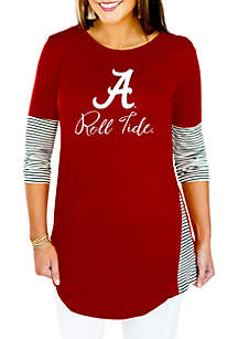 Alabama Crimson Tide Striking in Stripes Tunic