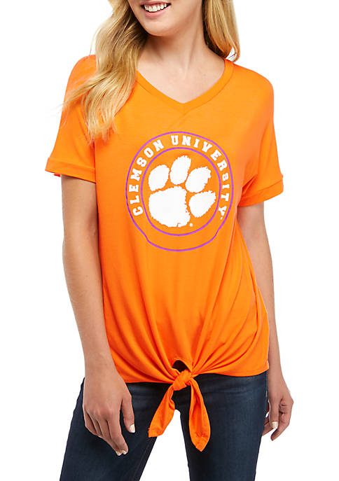 Gameday Couture NCAA Clemson Tigers V Neck T