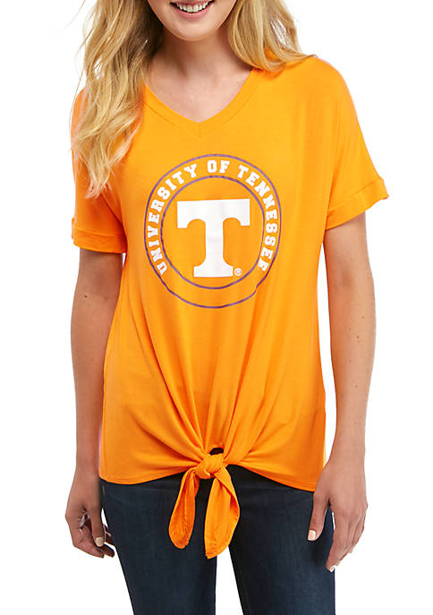 Gameday Couture NCAA Tennessee Volunteers V Neck T