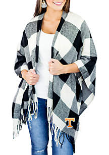 Tennessee Volunteers Buffalo Check Poncho