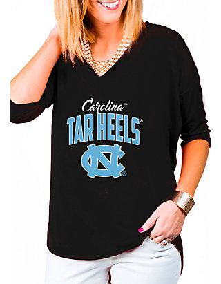 best sneakers 5e48e 1a38c Gameday Couture. Gameday Couture North Carolina Tar Heels Deep V 3 4 T-Shirt
