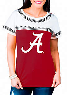Alabama Crimson Tide Catch You Later Embroidered Tee Shirt