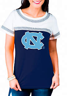 North Carolina Tarheels Catch You Later Embroidered Tee Shirt
