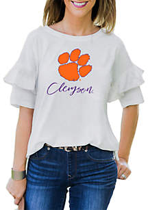 Clemson Tigers Ruffled Up Tee