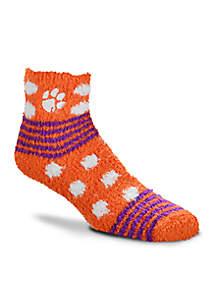 Clemson Tigers Sleep Soft Socks
