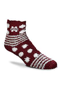 Mississippi State Bulldogs Homegater Sleep Soft Socks