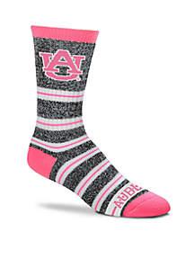 Auburn Tigers Melange Stripe Crew Socks