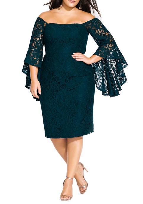 Plus Size Mystic Lace Dress