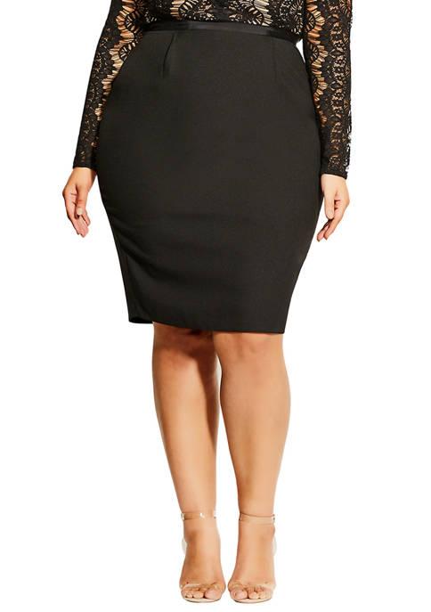 Plus Size Hourglass Beauty Dress