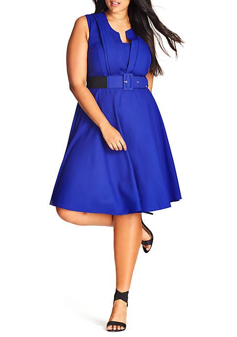 City Chic Plus Size Vintage Veronica Dress