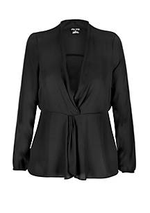 0fae60b512b ... City Chic Plus Size Knot Front Top