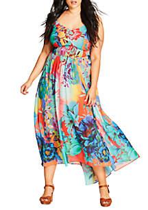 41fcf220ede9 ... City Chic Plus Size Hot Summer Days Maxi Dress