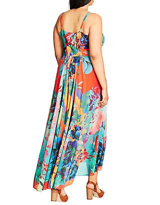 City Chic Plus Size Hot Summer Days Maxi Dress | belk